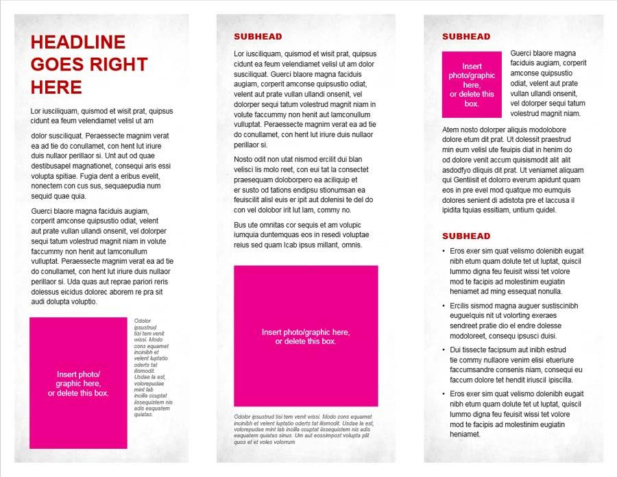 brochures the cfaes brand