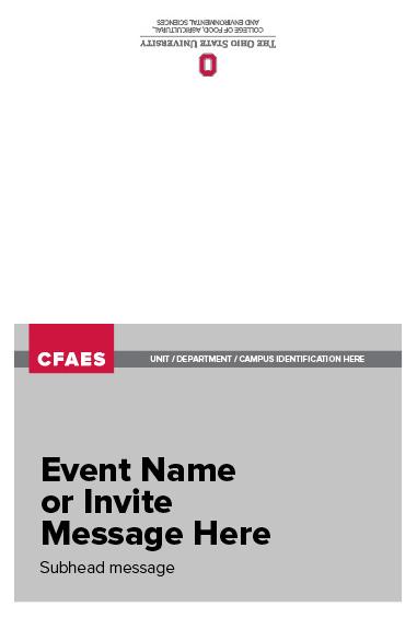 CFAES Event Invite