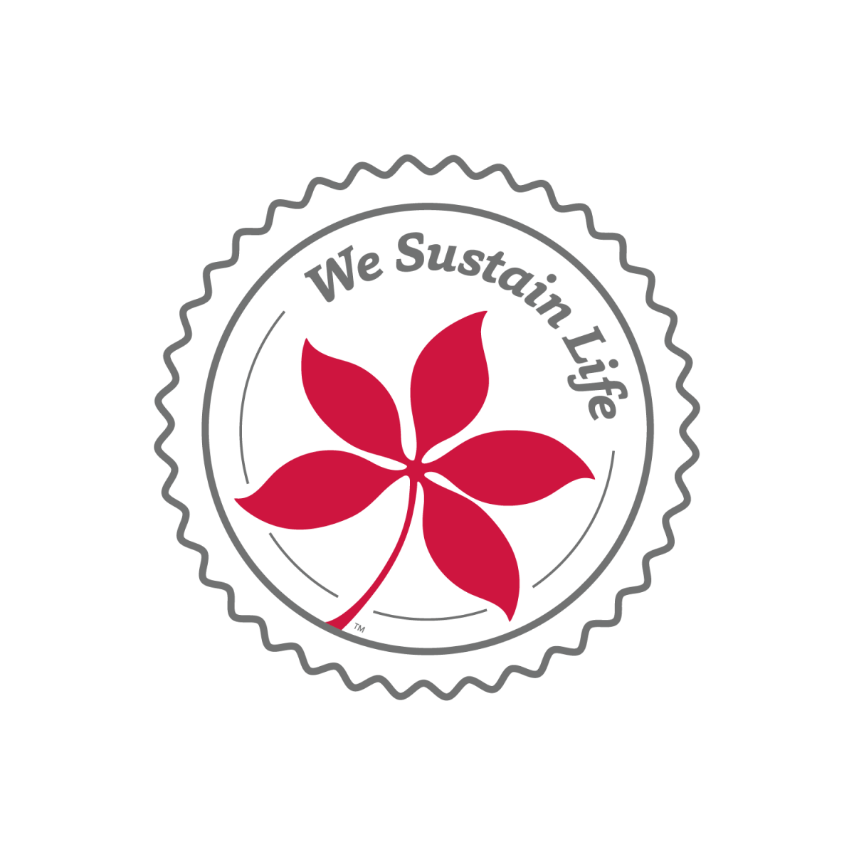 We Sustain Life Badge