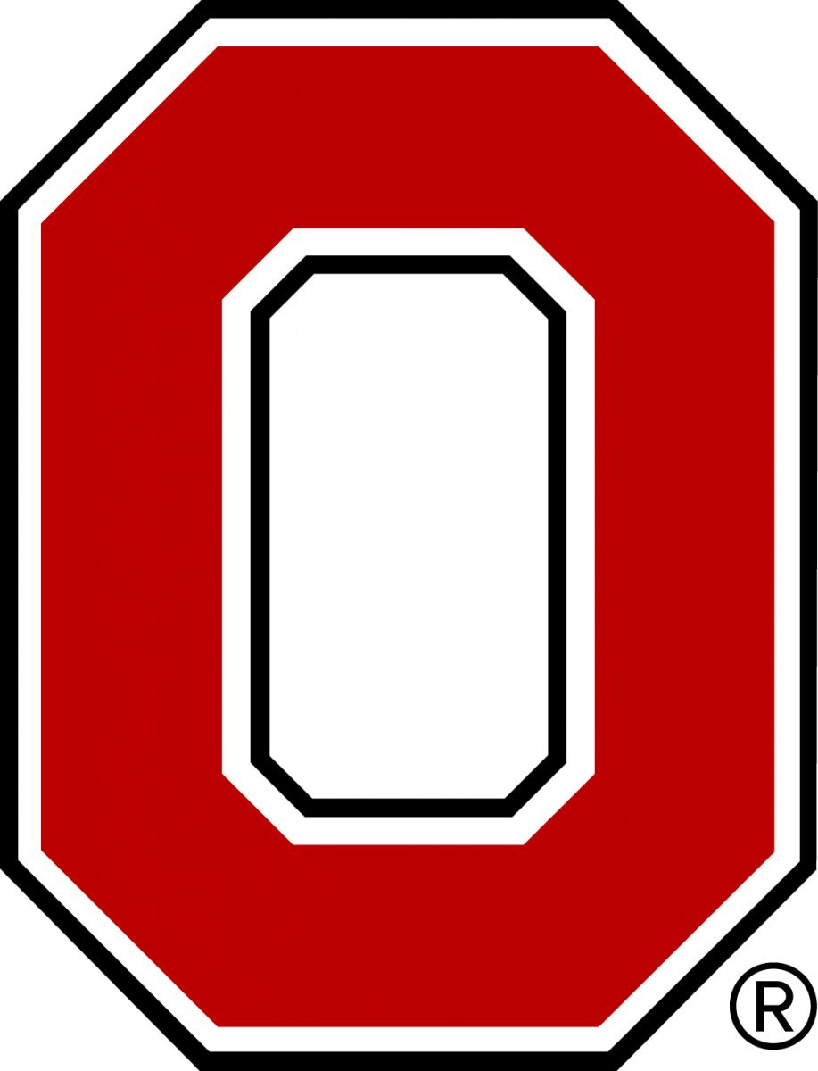 Best photos of ohio state block o dimensions ohio state block o.