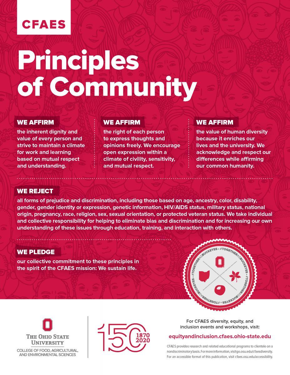 CFAES Principles of Community