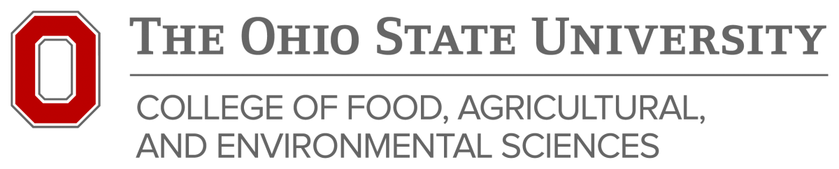 The Ohio State University College of Food, Agricultural, and Environmental Sciences logo