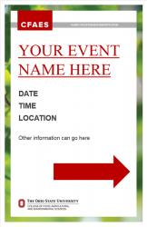 Brand Event Signage, 11x17, Option 3