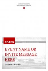 Brand Event Invitation, Option 2, Exterior