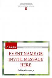 Brand Event Invitation, Option 3, Exterior