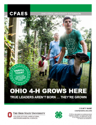 4-H Recruitment Flyer Front