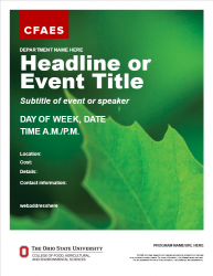 Academic Brand Event Flyer - Option 1