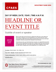 Academic Brand Event Flyer - Option 2