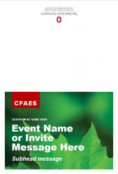 Academic Brand Event Invitation - Option 1 - Exterior