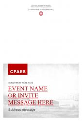 Academic Brand Event Invitation - Option 2 - Exterior
