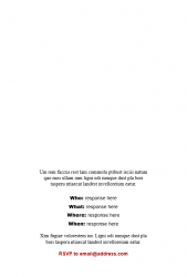 Academic Brand Event Invitation - Option 2 - Interior
