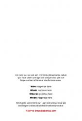 Academic Brand Event Invitation - Option 3 - Interior