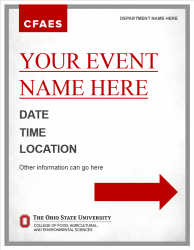 Academic Brand Event Sign - 24x31 2