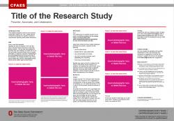 Research Poster, 30x21, Ext/OARDC