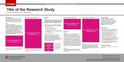 Research Poster, 36x18, Ext/OARDC