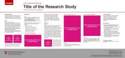 Brand Research Poster, 45x21