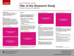 Brand Research Poster, 48x36