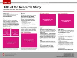 Research Poster, 48x36, Ext/OARDC